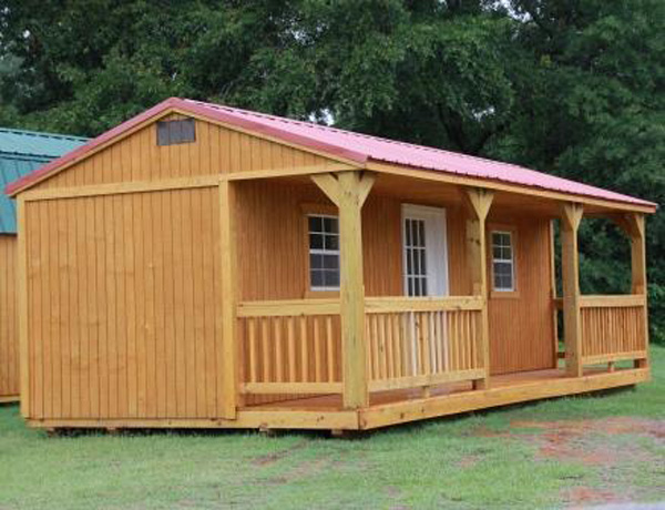 Zone 1 Side Porch Cabin Treated Easy Rentals Llc